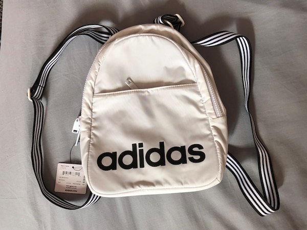 05d818d290 Used Adidas core white mini backpack for sale in Spring Valley - letgo