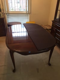 Dining Room Table, China Closet, 4 Chairs  BETHESDA