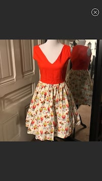 Retro 1950s Ice Cream Social Dress