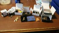 Avon pins, necklace, keychain, earrings  Baltimore, 21205