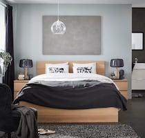 IKEA malm full bed with Morgedal Mattress
