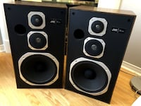 """JVC SK-303 Three-Way Speakers with 12"""" Woofers MARKHAM"""