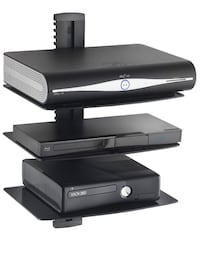 3-tier wall entertainment system shelves Concord, 94521