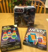 *BRAND NEW* Kids activities & a Star Wars puzzle in tin Bangor, 18013