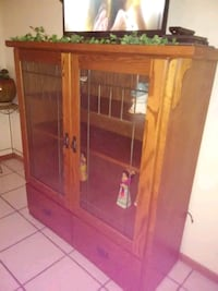 LIKE NEW!-Bookcase/ Display case-$450 Vinton, 79821