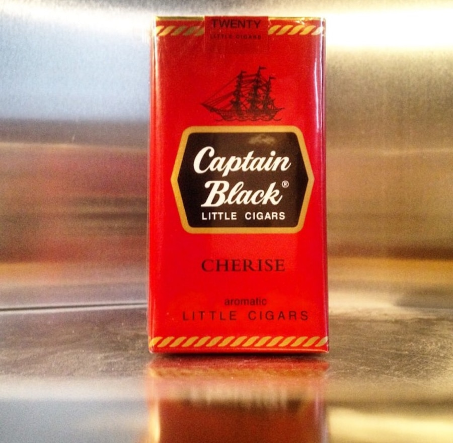 captain black From p&c's website: captain black has been the biggest selling line of tobaccos in the united states for almost fifty years, and this one is the original captain black regular is a mixture of virginia, burley and black cavendish with a distinctively warm, pleasantly sweet flavor and aroma.