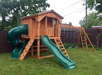 Playhouse Swingset (Amish Made) w/ FREE DELIVERY Buffalo