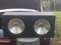 "Dual 15"" mtx thunder 6000 just bought the box  Harpers Ferry, 25425"