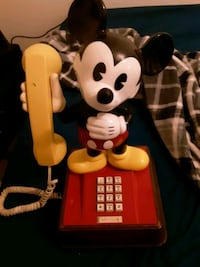 1976 Antique Mickey Mouse Phone