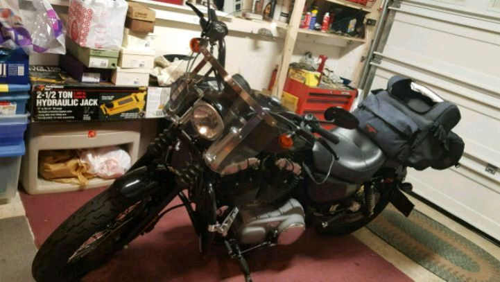 Photo 2008 Harley Davidson 1200N motorcycle