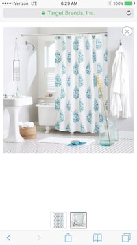Target - (Threshold Home brand) Floral Shower Curtains 2 panel