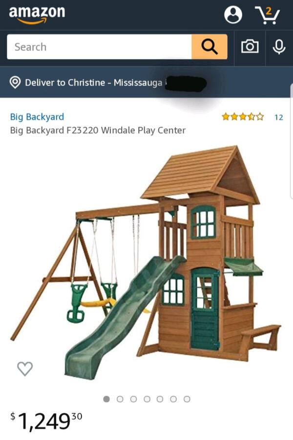 Kidcraft Windale Wooden Playset dbcc6395-ea77-4474-9577-6417d1f70425