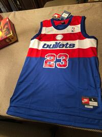 blue and red Adidas basketball jersey Markham, L3T 6T1