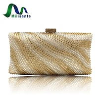 gold and silver clutch bag New York, 11420