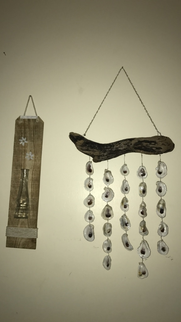Letgo Brown Wood And Clear Crystals Wall In Mobile Al