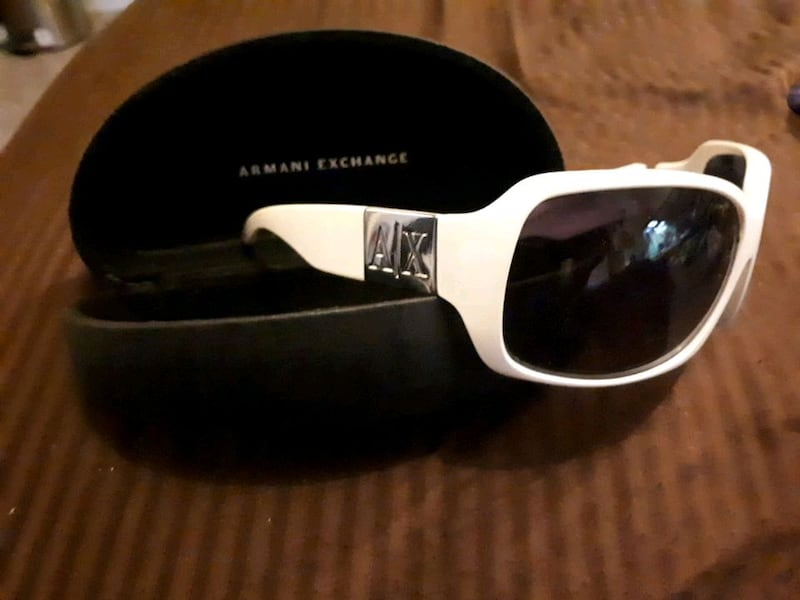 Armani exchange sunglasses and case  89023fc4-aaa1-4280-8adc-46d42f4a6aa7