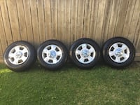 Rims with sensors & Tires  F150 2014 Edmonton, T5L 5B8