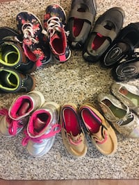 Girls shoes bundle size 6 to size 7  New York, 11220