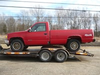 NO COMPLETE or WHOLE, scrapped it-PARTS ONLY NOW!  1994 Chevy K1500-2dr-pick up truck-4x4, 5spd Milford