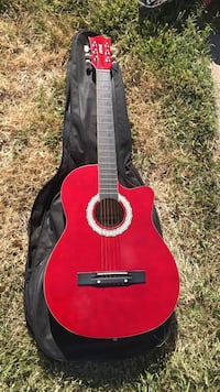 red and black classical guitar Palmdale, 93552