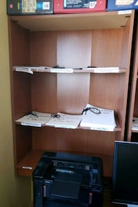 "Book shelve with door 43""H X 30""W X 12"" D $ 10 Mississauga, L5A 1W7"