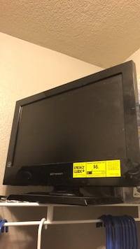 Black flat screen tv without remote Fort Worth, 76244