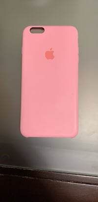 Pink Silicone IPhone 6Plus case