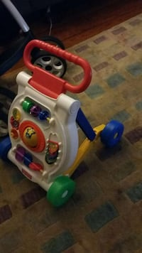 Fisher-Price learning to walk toy falls down