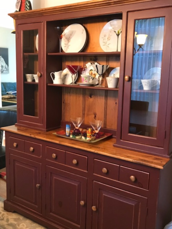 Rustic China Cabinet Hutch For Sale In WESTGROVE