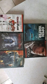 four assorted movie DVD cases Blythewood, 29016