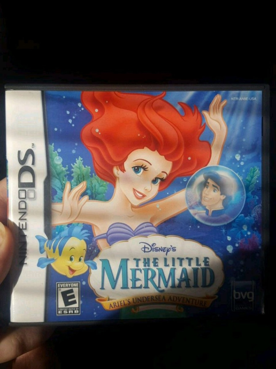 Photo Disney's The Little Mermaid Ariel's Undersea Adventures for Ds