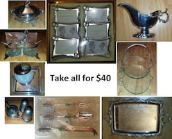 Silverware (Take all for $40)