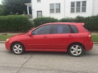 2007 Kia Spectra Red Cleveland, 44102