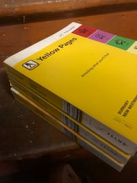 2007 Yellow Pages Phone Books gr8 4 movie props $1 each New Westminster, V3M