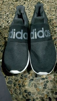 Adidas cloud foam slip on shoes size 12