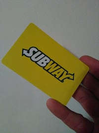 Subway gift card Lubbock, 79423
