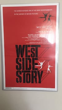 West Side Story Poster in Sleeve Westbrook, 06498