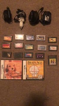 Vintage Nintendo DS Games and 4 Chargers Buffalo, 14215