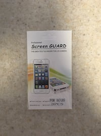 Screen guard for 5g/5s box  Newmarket, L3X 2N7