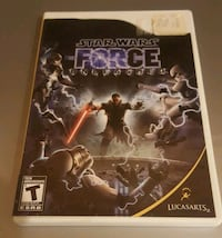 Star Wars The Force Unleashed Wii game Laval, H7M 4P8