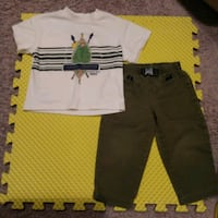Buster Brown 2T Boy 2 Piece Outfit Westminster, 80031