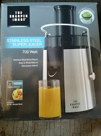 The Sharper Image Stainless steel super juicer box Modesto, 95358