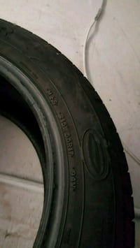 black car wheel with tire Suitland-Silver Hill, 20746
