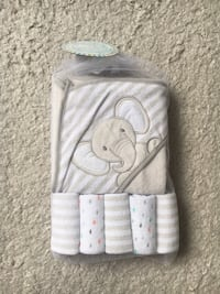 New hooded towel and cloths  Laval, H7T 3A7