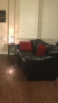 Leather Couch and Love Seat Set Washington