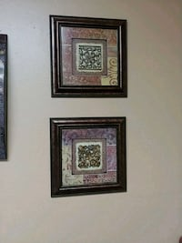 two brown wooden framed wall decors College Station, 77840