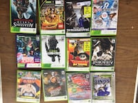 assorted Xbox 360 games 21 km