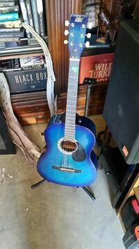 blue acoustic guitar Ridgeland, 39157
