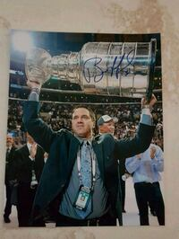 Bill Ranford Autographed 8x10 Photo  Edmonton, T6L 2K3