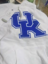 white and blue UK hoodie Lexington, 40508
